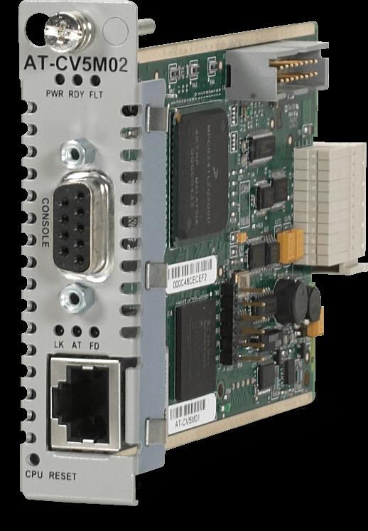 Allied Telesis CV5M02 Converteon series management line card