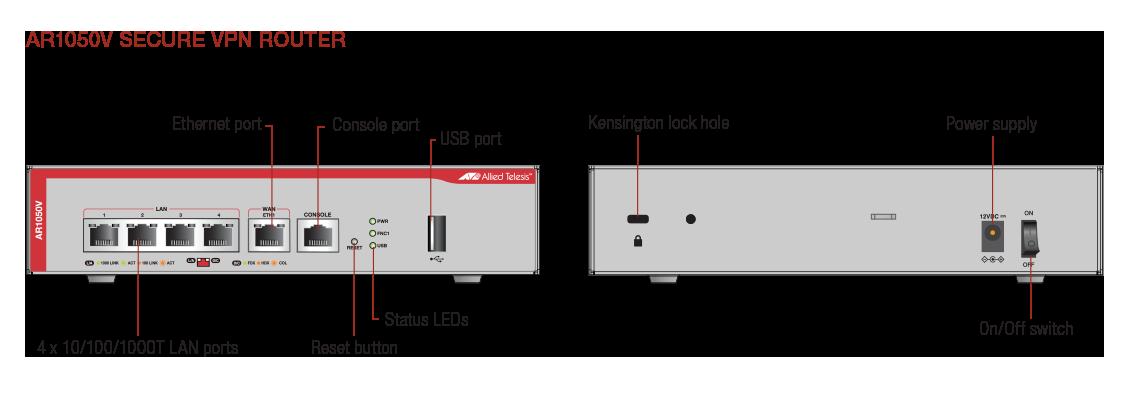 Datasheet: AR1050V   Allied Telesis