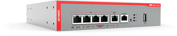 Allied Telesis AR1050V The Allied Telesis AR1050V Secure Virtual Private Network (VPN) Router is the ideal secure gateway for modern businesses.