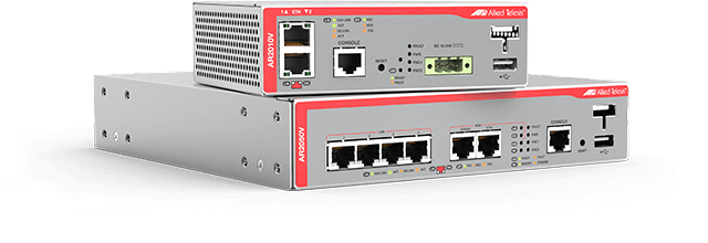 Allied Telesis Secure VPN Routers Allied Telesis Secure VPN Routersare ideal for branch office and remote device connectivity.