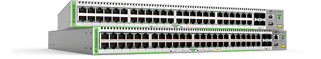 Allied Telesis CentreCOM GS980M Series The Allied Telesis CentreCOM® GS980M series of managed switches features 48 x 10/100/1000T copper ports and 4 x 100/1000X SFP uplinks.