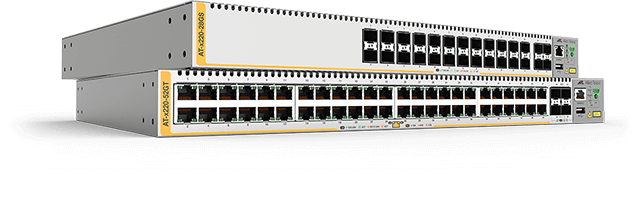 Allied Telesis x220 Series The x220 Series is a fully managed high-performing Gigabit Layer 3 switch