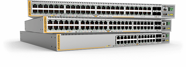 Allied Telesis x530 Series The Allied Telesis x530 Series of stackable Multi-Gigabit Layer 3 switches feature high capacity, resiliency and easy management, making them the ideal choice for demanding distribution and  high-speed connectivity applications.