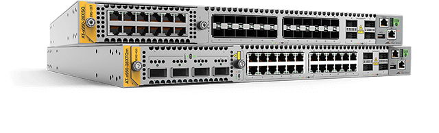 Allied Telesis x950 Series The x950 series is ideal for high-performing modern enterprise network cores, where stacking creates a resilient local or distributed solution. These powerful switches have 100 Gigabit connectivity built-in, and are expandable, delivering the capacity to enable today's Smart City and IoT networks.