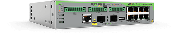 Allied Telesis GS980EM/10H The Allied Telesis GS980EM/10H Gigabit Layer 3 Lite PoE++ switch offers an impressive set of features in a compact design.
