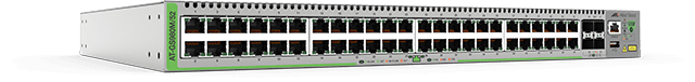 Allied Telesis GS980M/52  48-port 10/100/1000T edge switch with 4 SFP combo ports