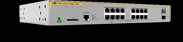 Allied Telesis x230L-17GT 16 x 10/100/1000T port and 1 x 100/100X SFP
