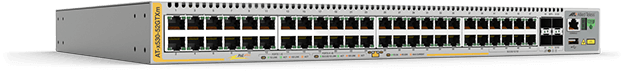 Allied Telesis x530-52GTXm 40 x 100M/1G and 8 x 100M/1G/2.5G/5G port stackable switch with 4 SFP+ ports and 2 x fixed PSUs