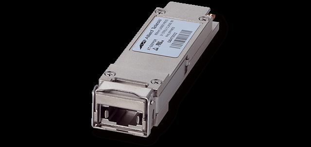 Allied Telesis QSFPSR4 40G SR4, (MPO), multi-mode, 100/150m