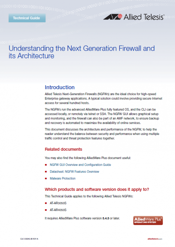 Understanding The Next Generation Firewall And Its