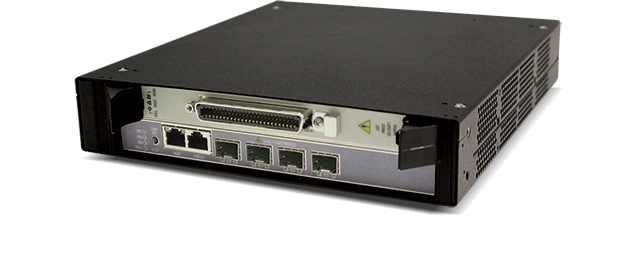 Allied Telesis MicroMAP 9001 1-slot iMAP chassis with DC power