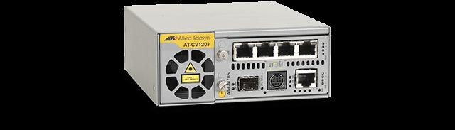 Allied Telesis CV1203 2-slot media converter chassis for Converteon™ line cards