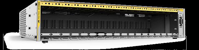 Allied Telesis CV5001 18-slot media converter chassis for Converteon™ line cards