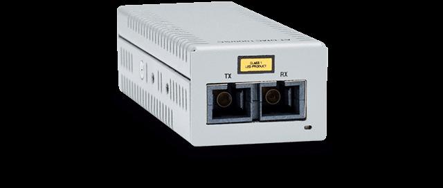 Allied Telesis DMC1000/SC 1000T to 1000SX (SC) desktop mini media converter, USB powered