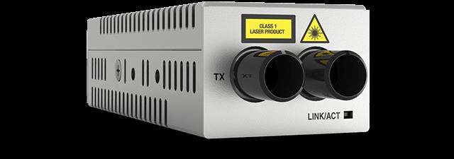 Allied Telesis DMC1000/ST 1000T to 1000SX/ST desktop mini media converter, USB powered