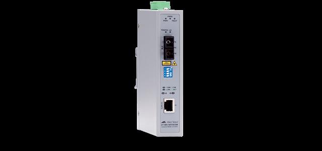 Allied Telesis IMC100T/SCSM 10/100TX to 100LX SC, 30km single-mode industrial media converter