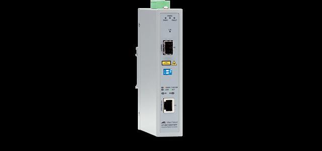 Allied Telesis IMC1000T/SFP 10/100/1000T to 1000X SFP industrial media converter