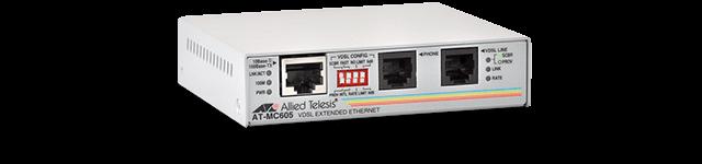 Allied Telesis MC605 Ethernet over VDSL Extender