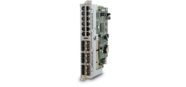 Allied Telesis MCF2032SP 12-channel 10/100/1000T to SFP line card for MCF2000 or MCF2300 chassis