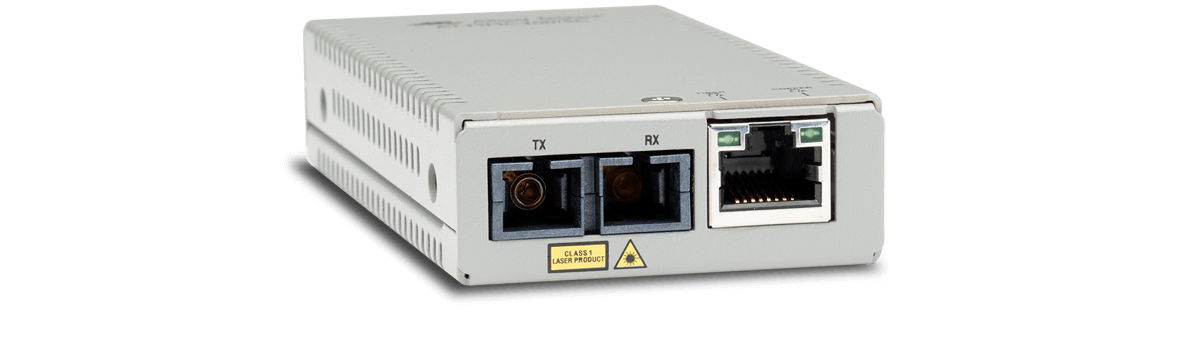 Allied Telesis MMC200/LC 10/100TX to 100FX/LC mini media and rate converter