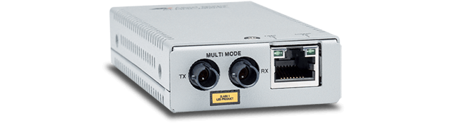 Allied Telesis MMC2000/ST 10/100/1000T to 1000SX/ST mini media and rate converter