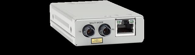 Allied Telesis MMC200LX/ST 10/100TX to 100LX/ST single-mode mini media and rate converter