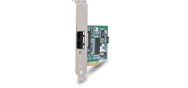 Allied Telesis 2701FX/MT 100FX desktop PCI fiber Network Interface Card