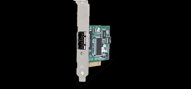 Allied Telesis 2701LX20/SC 100MB PCI 32-bit Fast Ethernet fiber Network Interface Card