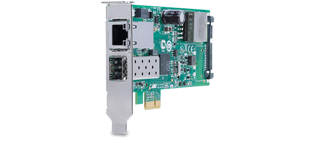 Allied Telesis 2911GP/SFP 1G SFP + 10/100/1000T PoE+ PCIe network adapter