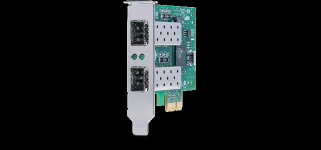 Allied Telesis 2911SFP/2 1G SFP dual port PCIe desktop network adapter