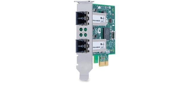 Allied Telesis 2911SX/2LC 1000SX/LC dual port PCIe network adapter