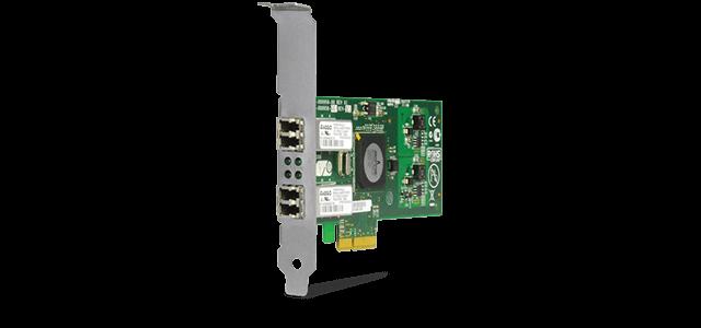 Allied Telesis 2973SX/LC PCIe x 4 (channels) dual port fiber Gigabit interface card