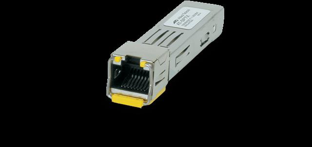 Allied Telesis SPTX/100MB-00 10/100TX (RJ45), 100m