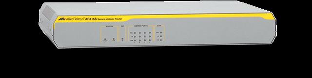 Allied Telesis AR415S 4 x 10/100T LAN ports, 1 x 10/100T WAN port, 1 x PIC slot, 1 x console port