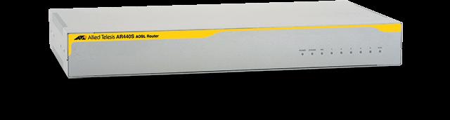 Allied Telesis AR440S 5 x 10/100T LAN ports, 1 x ADSL annex A, 1 x PIC slot, 1 x console port