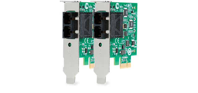 Allied Telesis 2711 Series Our Fast Ethernet Fiber PCI-Express Network Adapters provide the ultimate solution for upgrading to PCI-Express.