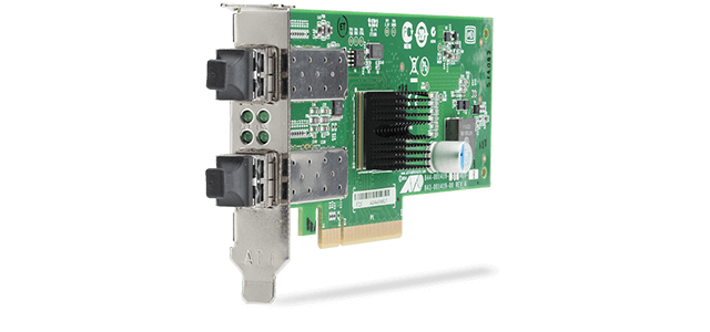Allied Telesis ANC10S Series This next-generation PCI-Express 10 Gigabit Network Adapter is ideal for virtualization and high-performance computing.
