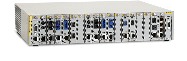 Allied Telesis Converteon Series Extend the distance of your network with this high performance, highly available, high-channel density media device.