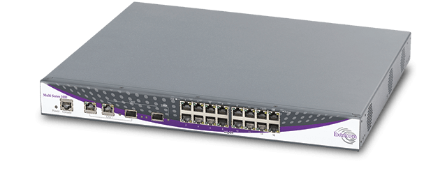 Allied Telesis Extricom MS-1000 Series With 16/32 GbE ports and up to 4 Channel Blankets, this large-size enterprise WLAN solution delivers voice, data, video and location services anywhere, anytime.
