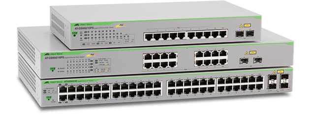 Gs950 Series Gigabit Websmart Switches Allied Telesis