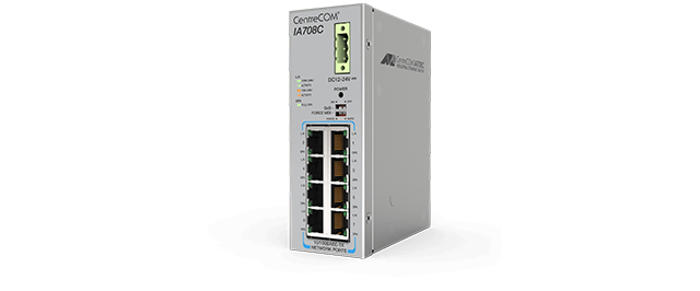 Allied Telesis CentreCOM IA Series Industrial Fast Ethernet Switches alternate 1