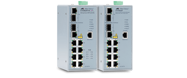 Allied Telesis IFS800 Series The IFS800 Series are high performance and cost-effective industrial managed switches for industrial network operations. Learn more now!