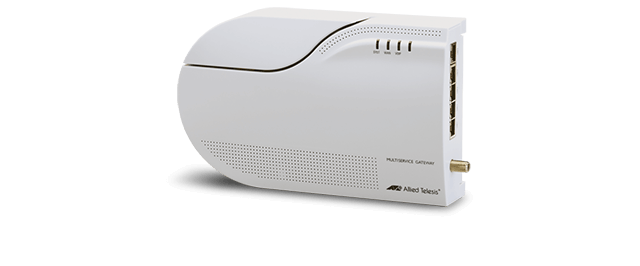 Allied Telesis iMG1500 Series The ideal FTTH device for all communications and entertainment services, including carrier-class telephony and two-way video-based services.