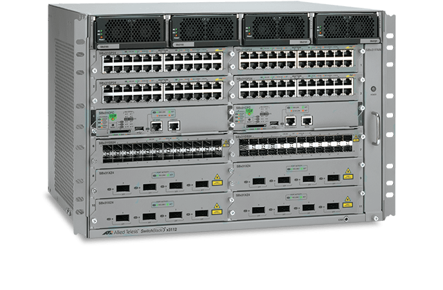 Allied Telesis SwitchBlade x3100 Series SwitchBlade x3100 access edge chassis switches are designed to deliver maximum performance with high availability for the ultimate in network edge connectivity.