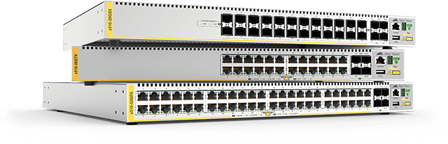Allied Telesis x510 Series Security and resiliency features, coupled with easy management, make the x510 Series switches an ideal choice for network access applications.