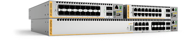 Allied Telesis x550 Series The x550 Series of stackable 10 Gigabit Layer 3 switches feature advanced resiliency and capacity coupled with effortless management, to meet the needs of even the most demanding network core and distribution applications.