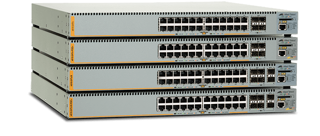 Allied Telesis x610 Series The x610 Series switches provide an extensive range of port-density and uplink-connectivity options for high performing, scalable solutions for networks.
