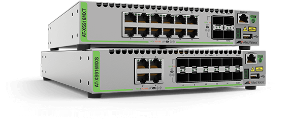 Allied Telesis CentreCOM  XS900MX Series The CentreCOM XS900MX Series switches enable a highly flexible and reliable network, which can easily scale to meet increasing traffic demands. Learn more now!