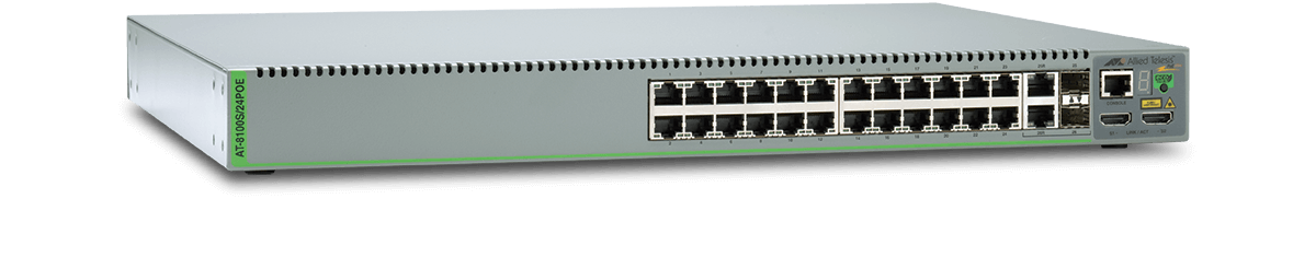 Allied Telesis 8100L AT-8100L/8POE Layer 3 Switch