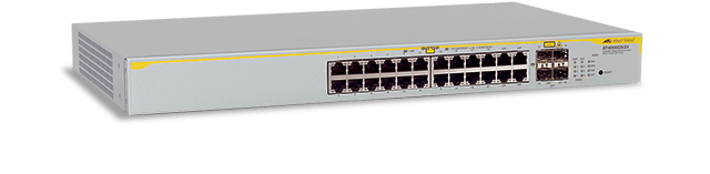 Allied Telesis 8000GS/24 24-port stackable 10/100/1000T Layer 2 switch with 4 SFP ports